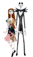 Jack and Sally by musicmermaid