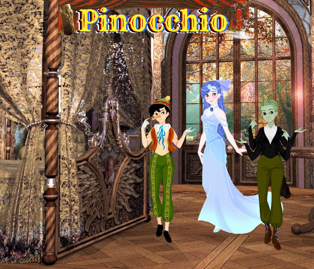 My Pinocchio: Illustration 1 by musicmermaid