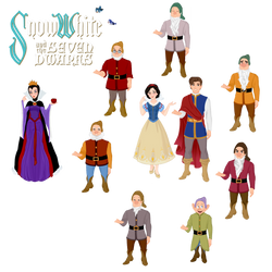 Snow White And The Seven Dwarfs 80th Anniversary by musicmermaid