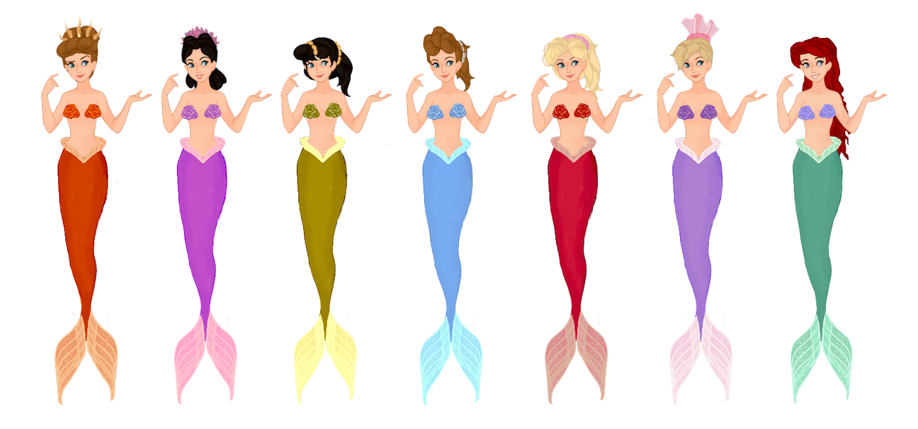 Daughters of Triton by musicmermaid