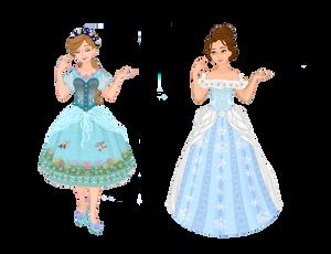 April Challenge Seasonal dresses