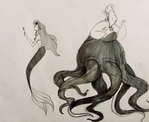 Ariel and Ursula