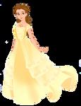 Belle (Emma Watson) by musicmermaid