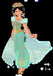 Jasmine (Naomi Scott) by musicmermaid