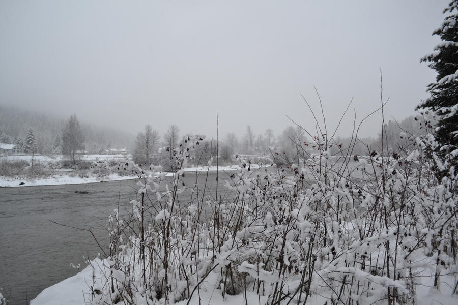Waterfront Park in Leavenworth, WA in Winter 8 by Singing-Wolf-12