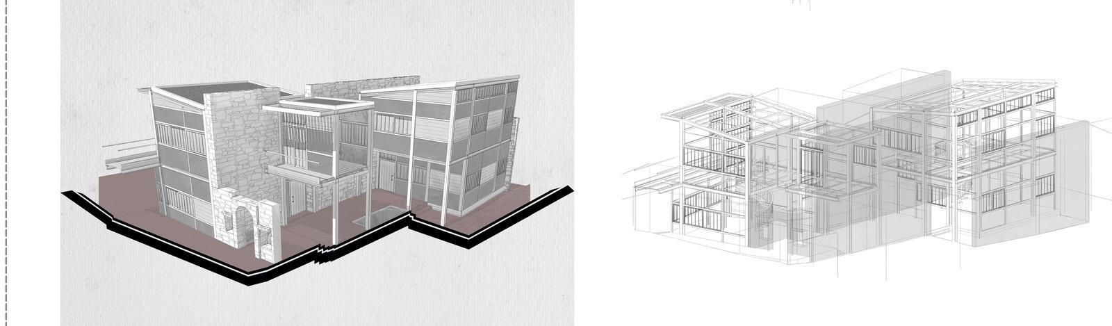 3D sketch.