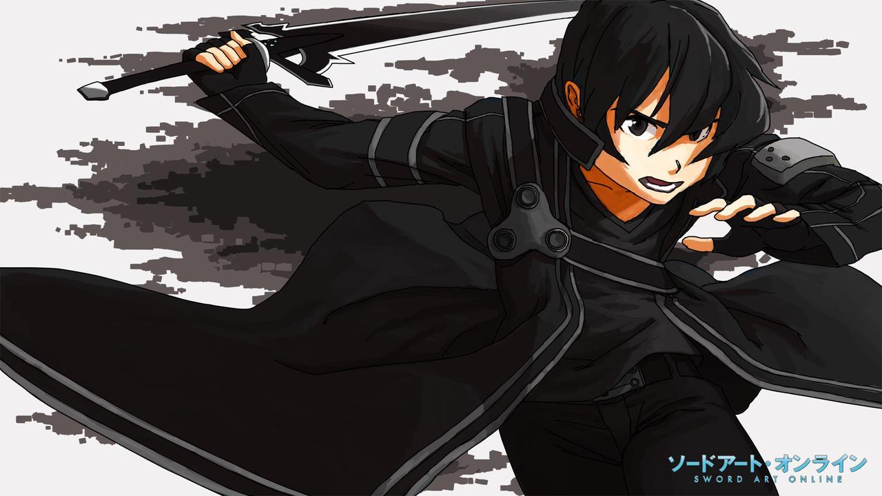 Sword Art Online - Kirito by kelzero