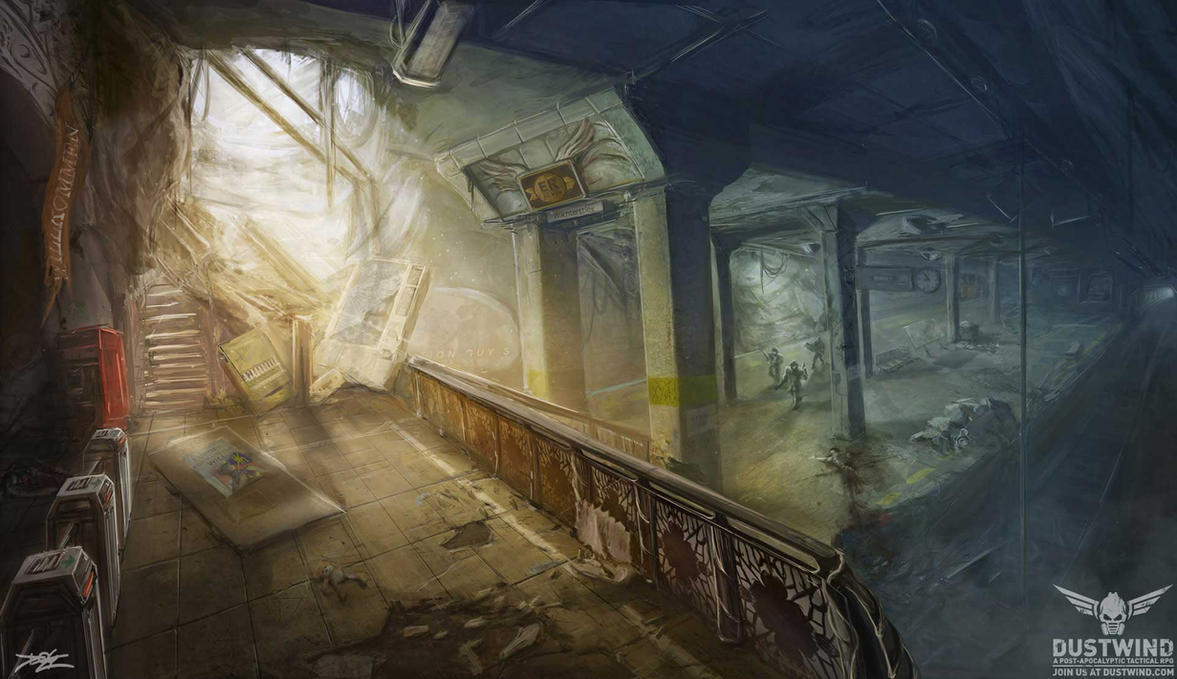 Dustwind Subway by Hydraw-Art