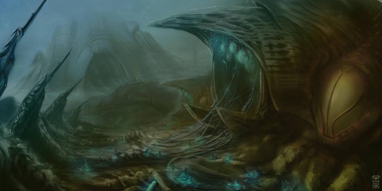 The Garden by Hydraw-Art