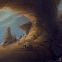 Desert Rock by Hydraw-Art