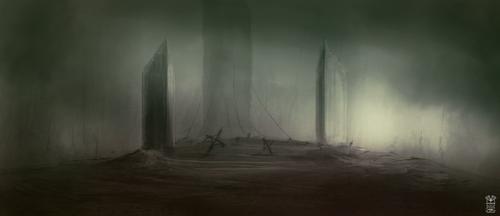 Monolith by Hydraw-Art