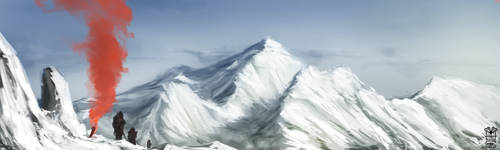 Mountain Patrol by Hydraw-Art