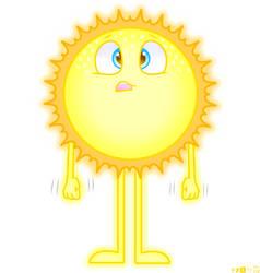 Sweating Scared Sun by jackyleo738