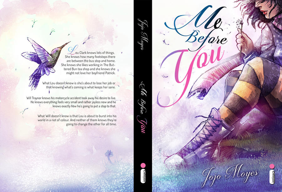 Me Before You _ cover fanart by Luaprata91