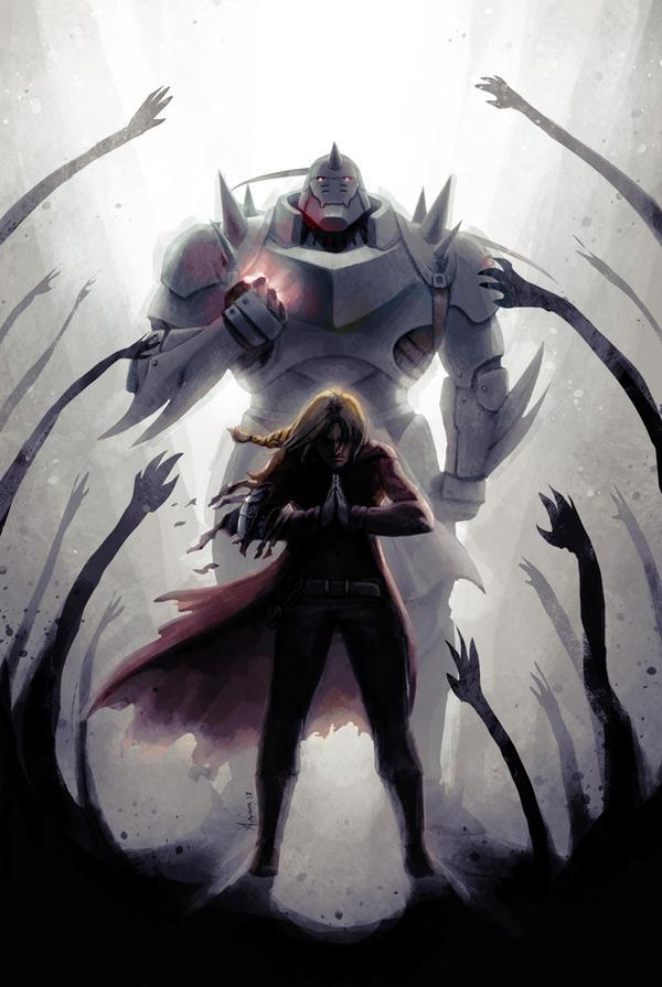 Fullmetal Alchemist Brotherhood by Luaprata91