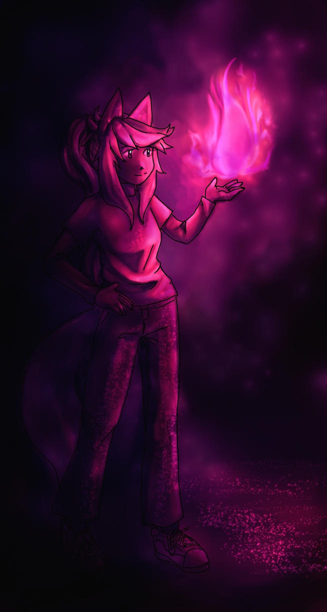 Pink Fire by 0474