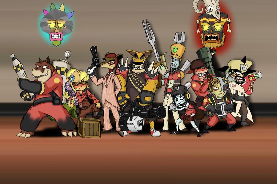 Team Bandicoot 2 by yuukithespy