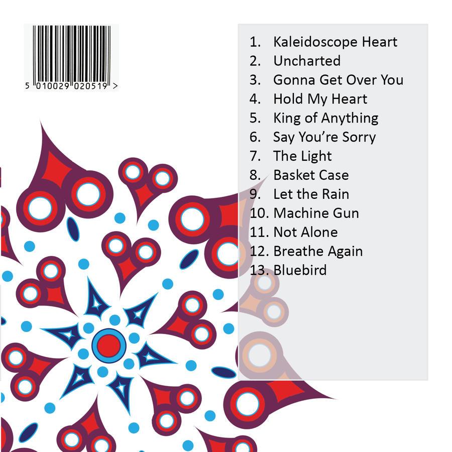 CD Design - Back Cover by Jriiann