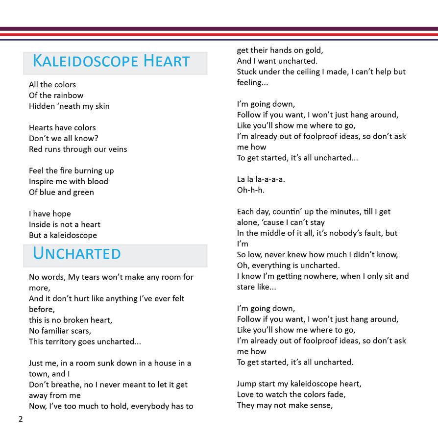 CD Design - Inside the Booklet by Jriiann