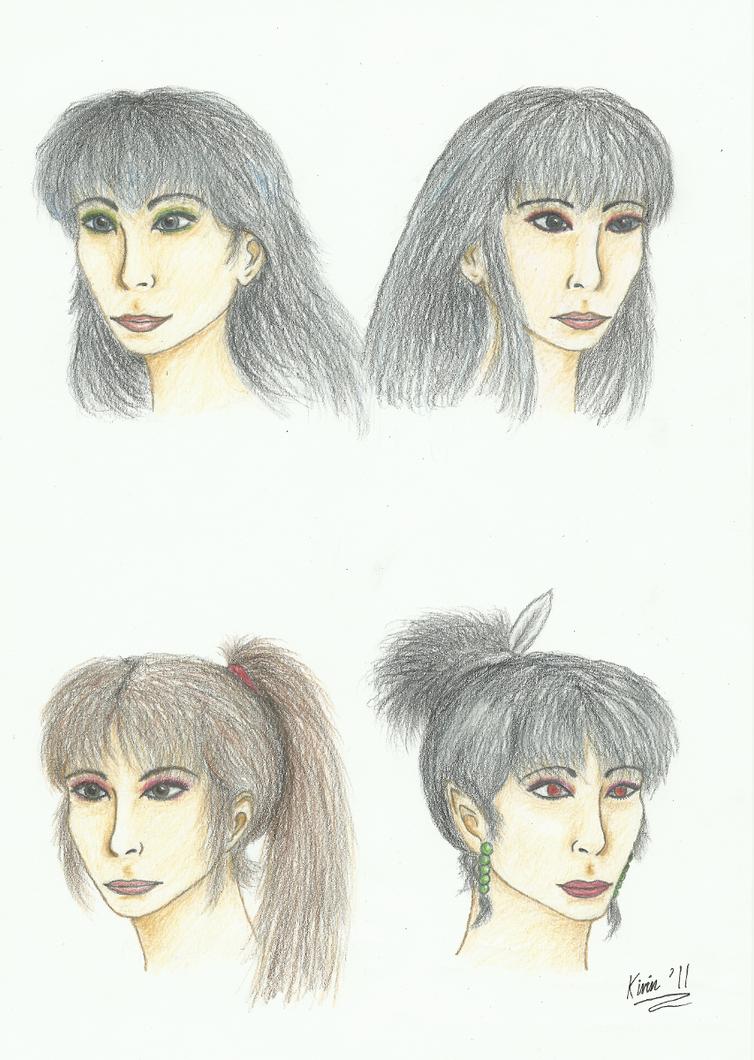 Realism practice - IY ladies by kirin2009