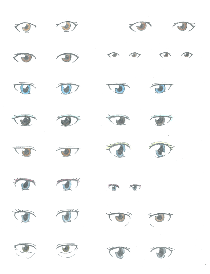 Character Design Eyes : Character design sketches eyes by kirin on deviantart