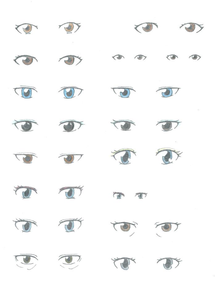 Character Design Eyes : Character design sketches eyes by kirin on deviantart