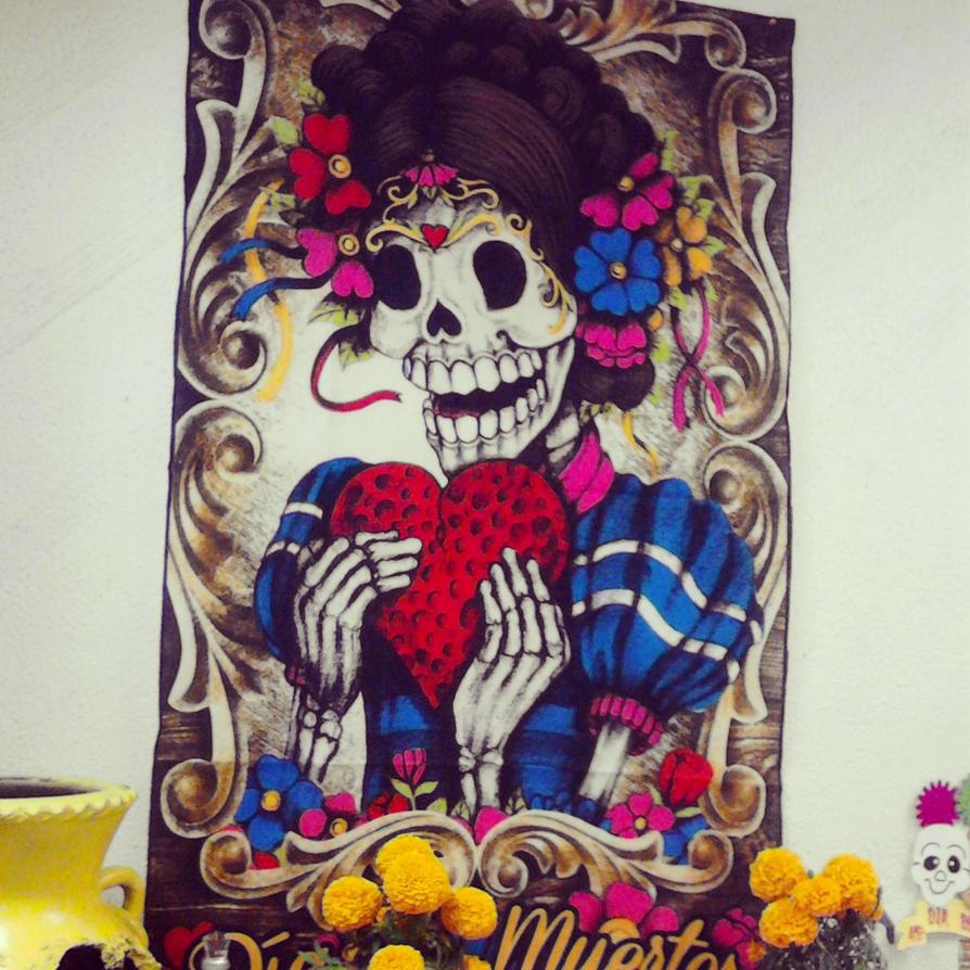 Bella inmortal / Dia de muertos by MrcohAnt