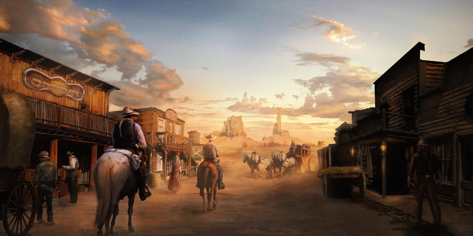 A Town in the Desert
