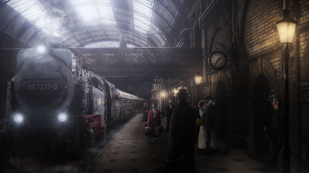 Dark Station by LPSDC