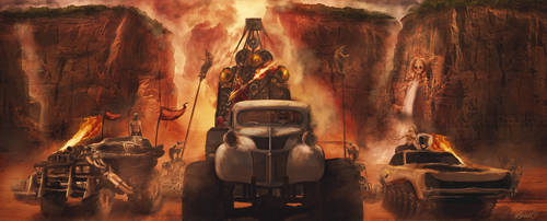 Mad Max Fury Road by LPSDC