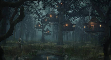 A Strange Village
