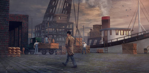 Rendezvous on the Docks by LPSDC