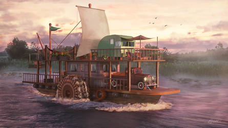 Houseboat by LPSDC