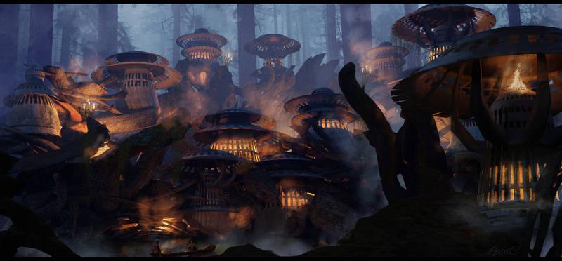 The Illuminated Village