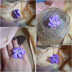 Purple Lily Ring
