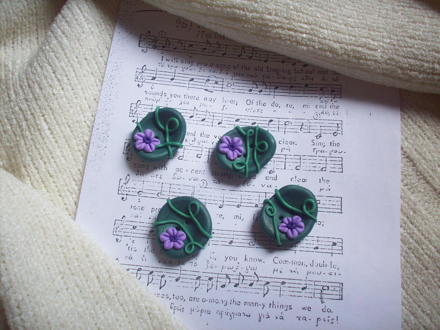 Floral Buttons by ChrisOnly
