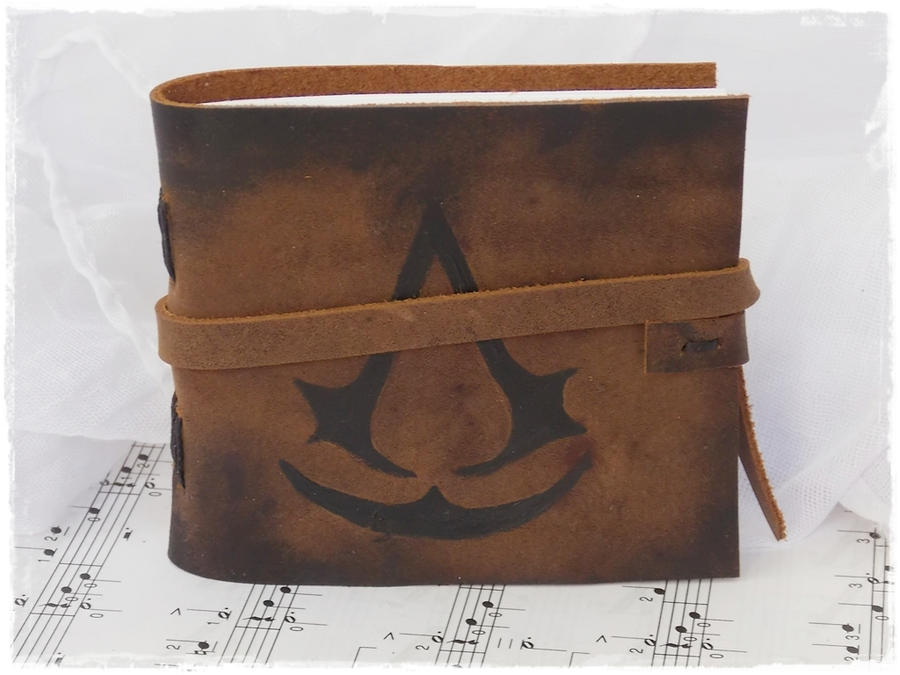 Assassin's Creed Leather Journal by ChrisOnly