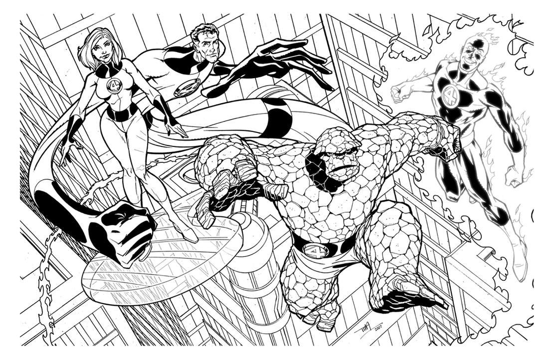 Fantastic Four by TimLevins on DeviantArt