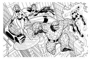 Fantastic Four by TimLevins