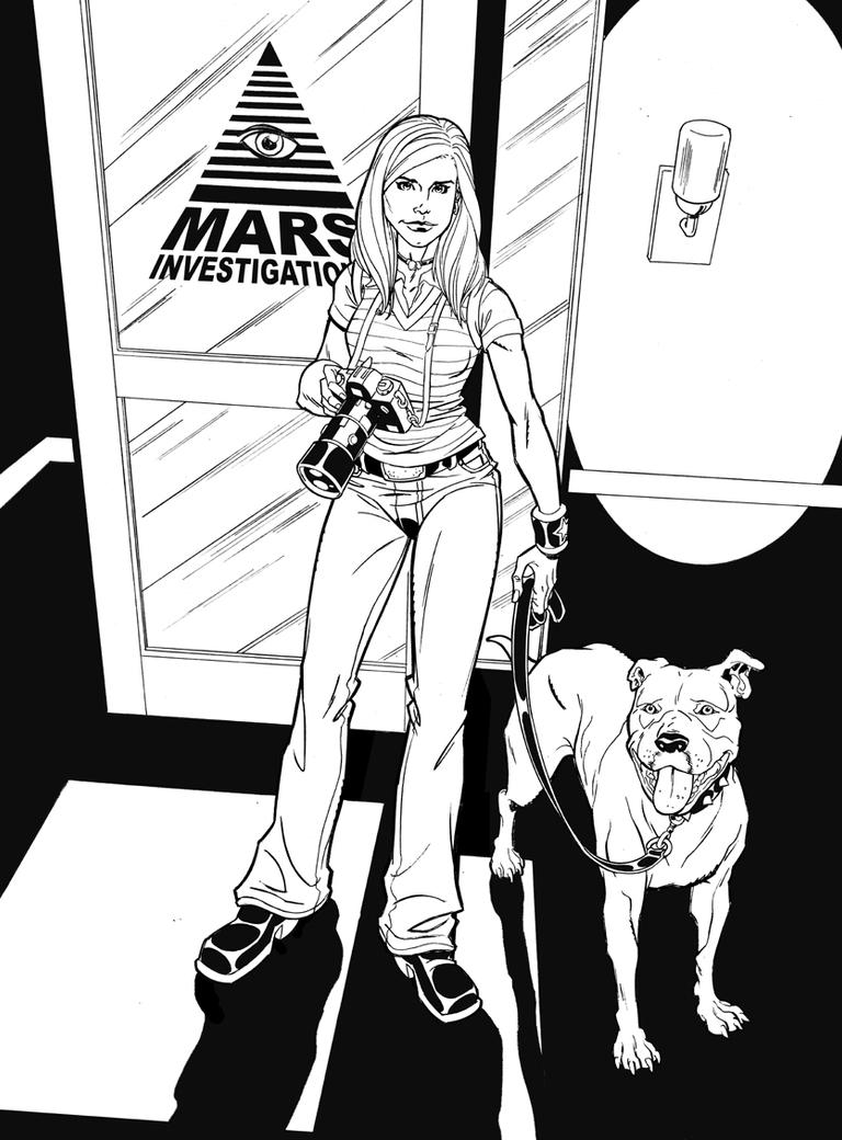 Veronica Mars by TimLevins