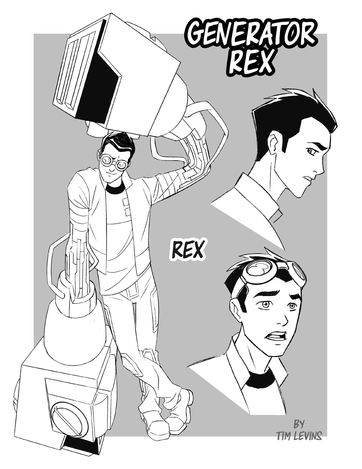 Generator Rex by TimLevins