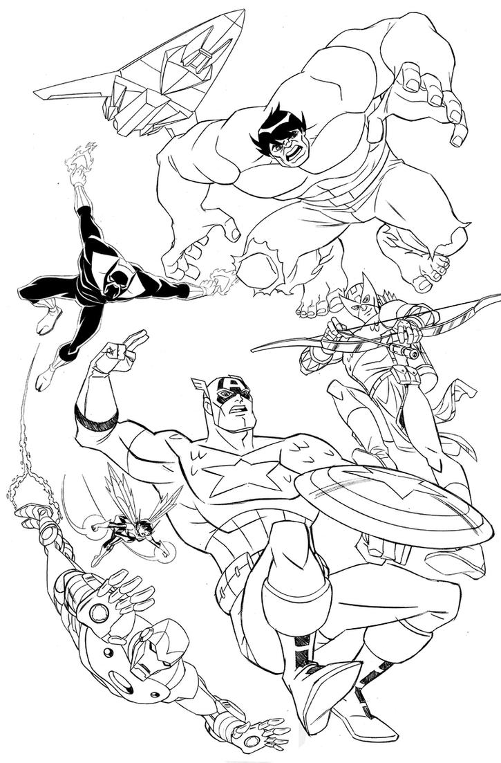 Avengers Wasp Coloring Pages : Avengers wasp free coloring pages