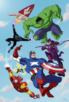 Avengers: Earth's Mightiest Heroes - color