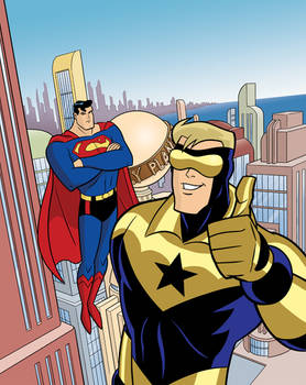 DC Super Heroes: The Man of Gold
