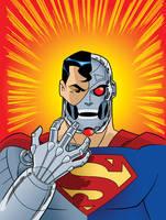 DC Super Heroes: Cyborg Superman by TimLevins
