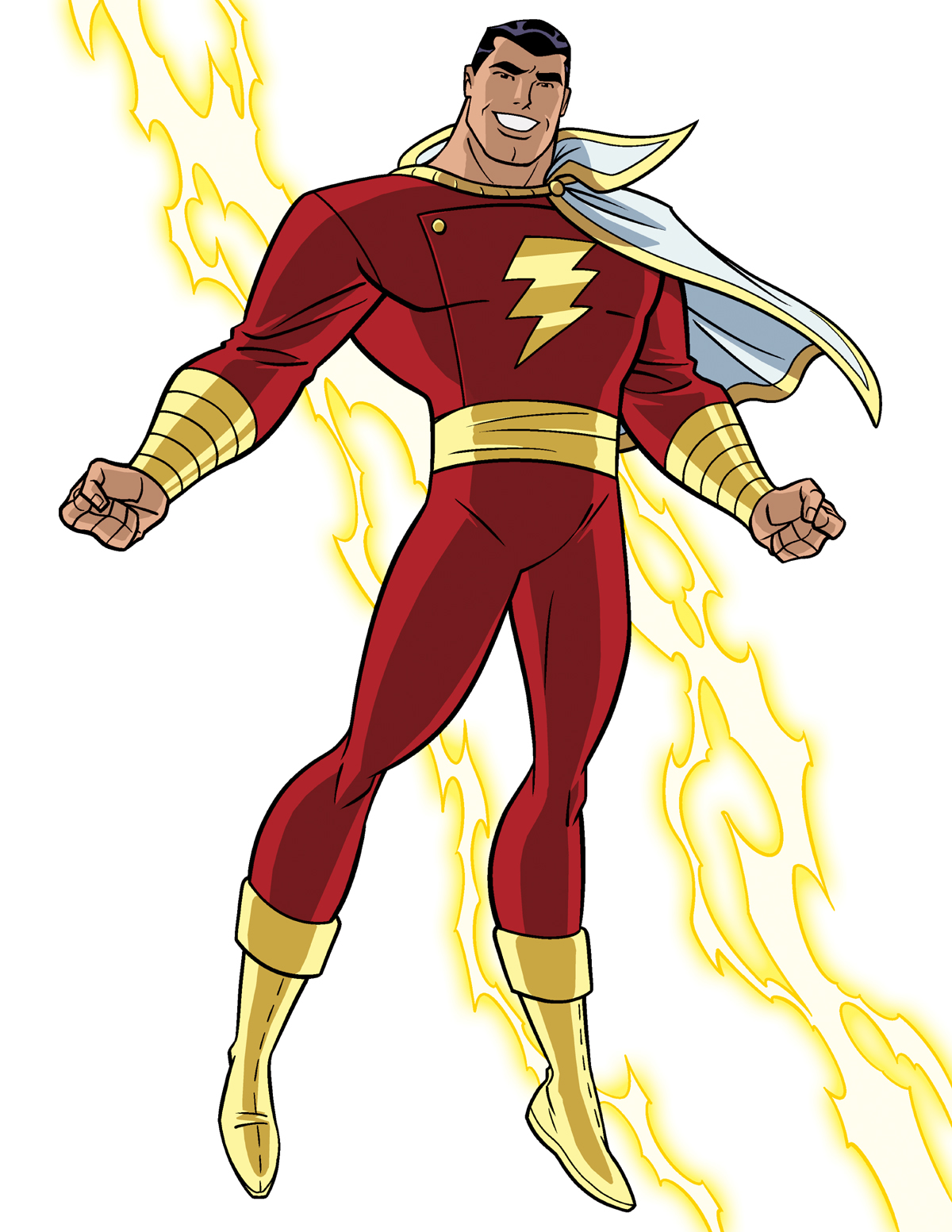 how to draw dc heroes - captain marvel/shazamtimlevins on deviantart