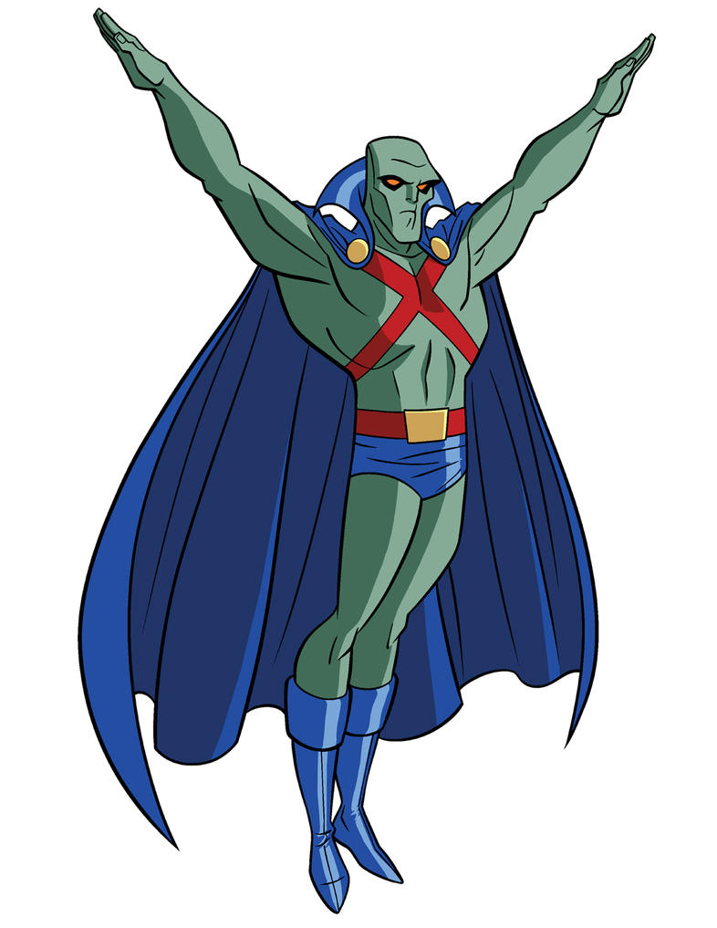 How to draw dc heroes martian manhunter by timlevins on deviantart