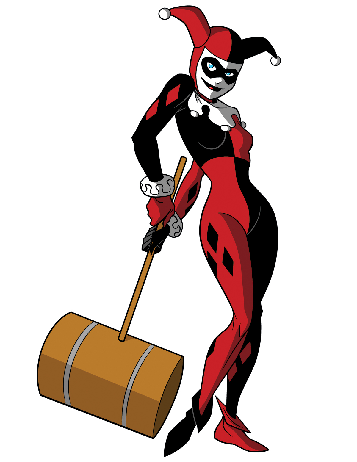 Harley Quinn Drawing: Harley Quinn By TimLevins On