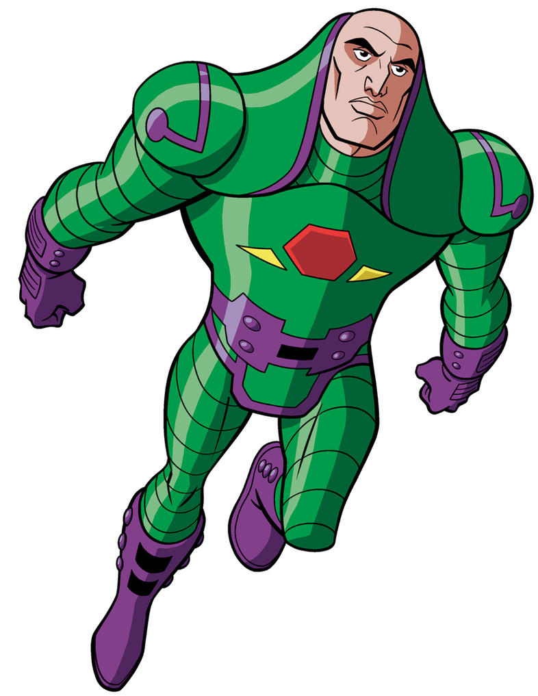 How To Draw Dc Villains Lex Luthor By Timlevins On