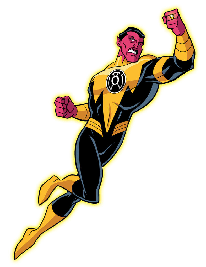 How To Draw DC Villains - Sinestro by TimLevins